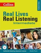 Real Lives, Real Listening. Intermediate Student's Book with CD - фото обкладинки книги