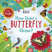 RHS How Does a Butterfly Grow? - фото обкладинки книги