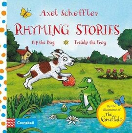Rhyming Stories: Pip the Dog and Freddy the Frog - фото книги