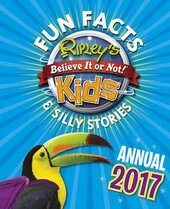 Ripley's Fun Facts and Silly Stories Activity Annual 2017 - фото обкладинки книги