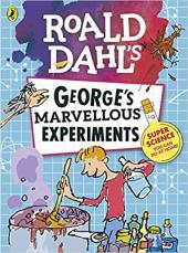 Roald Dahl: George's Marvellous Experiments - фото обкладинки книги