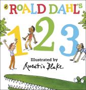 Roald Dahl's 123 : (Counting Board Book) - фото обкладинки книги