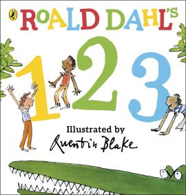 Roald Dahl's 123 : (Counting Board Book) - фото книги
