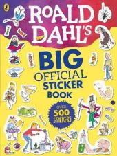 Roald Dahl's Big Official Sticker Book - фото обкладинки книги
