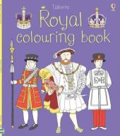 Royal Colouring Book - фото обкладинки книги