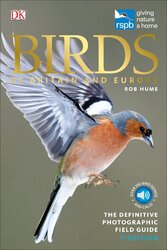 RSPB Birds of Britain and Europe - фото обкладинки книги