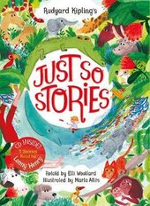 Rudyard Kipling's Just So Stories, retold by Elli Woollard: Book and CD Pack - фото обкладинки книги