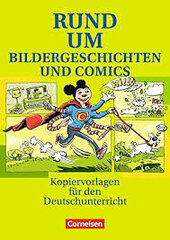 Rund um Bildergeschichten und Comic. Kopiervorlagen fr den Deutschunterricht - фото обкладинки книги