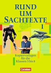 Rund um Sachtexte. Kopiervorlagen fr den Deutschunterricht. 5-8 Schuljahr - фото обкладинки книги