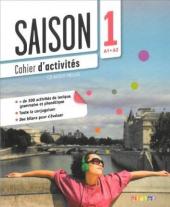 Saison 1 (A1-A2). Cahier d'activites +CD - фото обкладинки книги