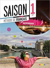 Saison 1 (A1+). Livre de l'eleve + CD + DVD - фото обкладинки книги