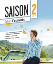 Saison 2 (A2-В1). Cahier d'activites + CD - фото обкладинки книги