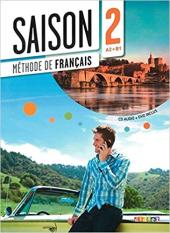 Saison 2 (A2-В1). Livre de l'eleve + CD + DVD - фото обкладинки книги