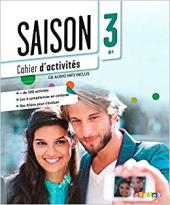 Saison 3 (В1). Cahier d'activites + CD - фото обкладинки книги