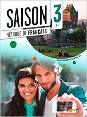 Saison 3 (В1). Livre de l'eleve + CD + DVD - фото обкладинки книги