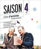 Saison 4 (В2). Cahier d'activites + CD - фото обкладинки книги