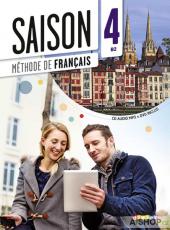 Saison 4 (В2). Livre de l'eleve + CD + DVD - фото обкладинки книги