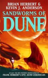 Sandworms of Dune - фото обкладинки книги