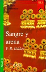 Sangre y arena - фото обкладинки книги