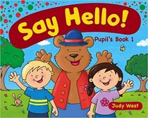 Аудіодиск Say Hello Pupil'S Book 1
