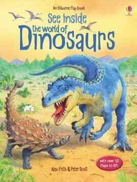 See Inside The World of Dinosaurs - фото книги