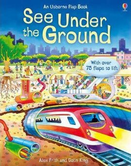 See Inside Under the Ground - фото книги