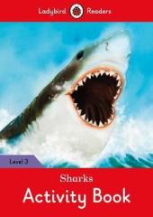 Sharks Activity Book - Ladybird Readers Level 3 - фото обкладинки книги