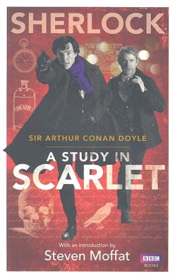 Sherlock: A Study in Scarlet - фото книги