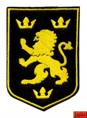 Шеврон Галицький лев А6/001