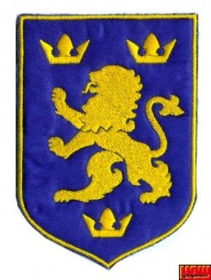 Шеврон Галицький лев А6/006
