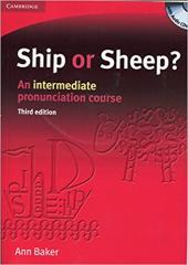 Ship or Sheep? Book and Audio CD Pack: An Intermediate Pronunciation Course - фото обкладинки книги