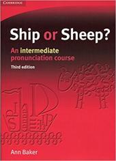 Ship or Sheep? Student's Book: An Intermediate Pronunciation Course - фото обкладинки книги