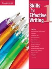 Skills for Effective Writing 1. Student's Book - фото обкладинки книги