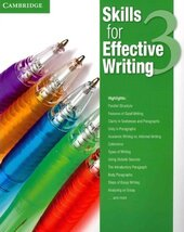 Skills for Effective Writing 3. Student's Book - фото обкладинки книги