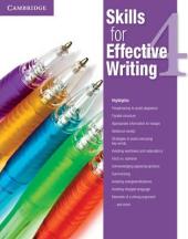 Skills for Effective Writing 4. Student's Book - фото обкладинки книги