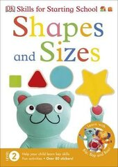 Skills for Starting School: Shapes and Sizes - фото обкладинки книги