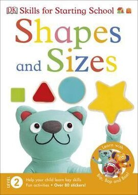 Skills for Starting School: Shapes and Sizes - фото книги