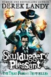 Skulduggery Pleasant - фото обкладинки книги