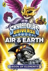 Skylanders Book of Elements: Air and Earth - фото обкладинки книги