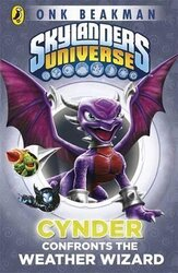 Skylanders Mask of Power: Cynder Confronts the Weather Wizard : Book 5 - фото обкладинки книги