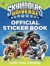 Skylanders Universe: Official Sticker Book - фото обкладинки книги