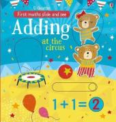 Slide and See Adding at the Circus - фото обкладинки книги