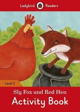 Sly Fox and Red Hen Activity Book - Ladybird Readers Level 2 - фото книги