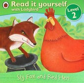 Sly Fox and Red Hen - Read it yourself with Ladybird : Level 2 - фото обкладинки книги