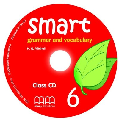 Аудіодиск Smart Grammar and Vocabulary 6 Audio CD