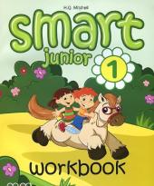 Smart Junior 1 Workbook + Audio CD - фото обкладинки книги