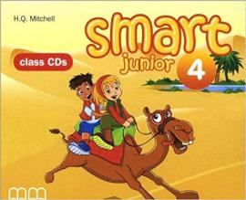 Smart Junior 4 Class CDs - фото книги