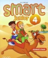 Smart Junior 4 Student's Book Ukrainian Edition - фото обкладинки книги