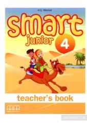 Smart Junior 4 Teacher's Book - фото обкладинки книги