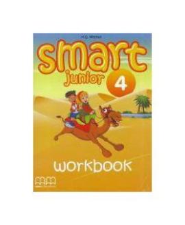 Smart Junior 4 Work Book with CD/CD-ROM - фото книги